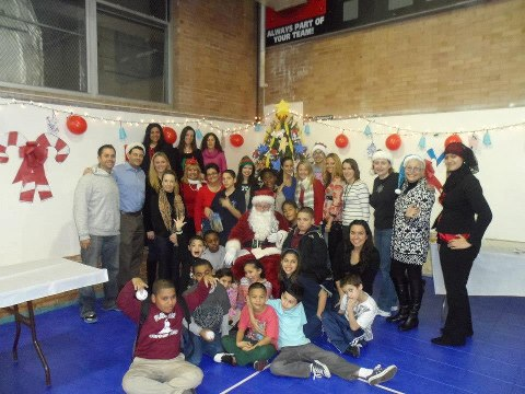 Holiday Party at Boys and Girls Club